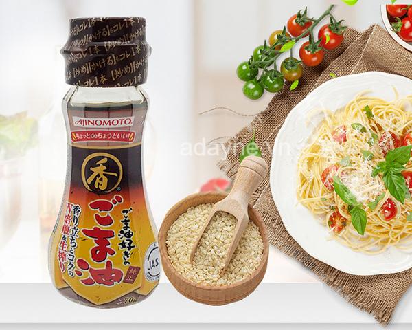Dầu mè Ajinomoto của Nhật sẽ là một lựa chọn đúng đắn cho bé nhà bạn