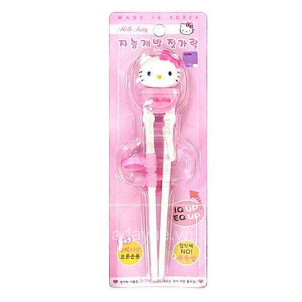 Đũa tập ăn cho bé Hello Kitty 3D RD-0399