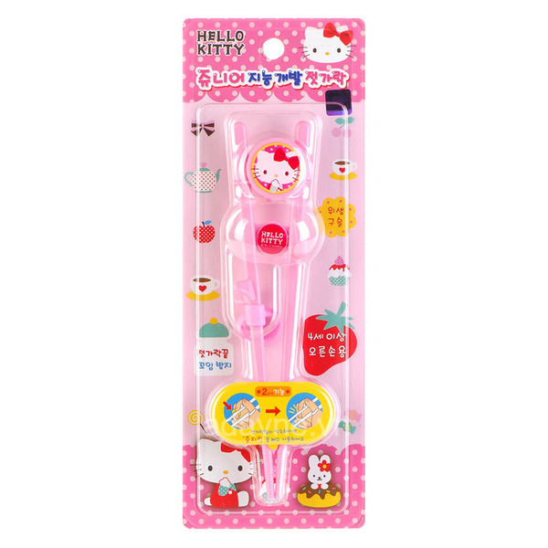 Đũa tập ăn cho bé Hello Kitty Junior RJ-0382