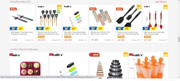 Walfos Official Store – Shop bán dụng cụ làm bánh trên shopee.