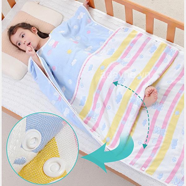 Túi ngủ cho bé vô cùng tiện lợi, mang lại cho con giấc ngủ sâu, giữ ấm và tránh các bệnh thường gặp vào mùa đông