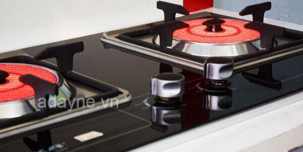 Bếp hồng ngoại dùng gas gây ấn tượng bởi nhiều tính năng và ưu điểm