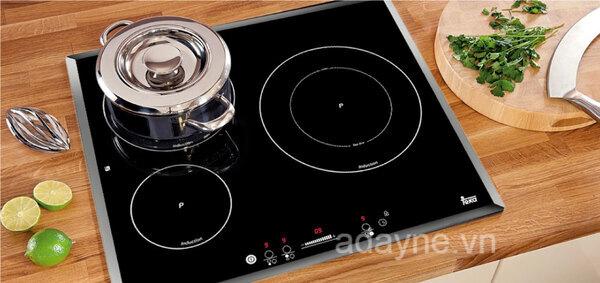 Bếp hồng ngoại dùng mâm nhiệt giúp người dùng nấu nhanh hơn, tiết kiệm khá nhiều thời gian và giảm nguồn điện năng tiêu thụ