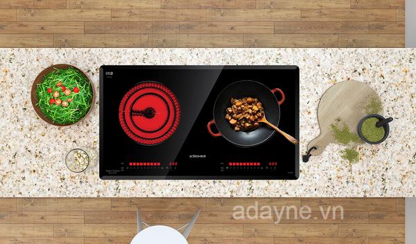 Bếp hồng ngoại dùng mâm nhiệt đang nhận được sự ủng hộ và đánh giá tích cực của nhiều khách hàng