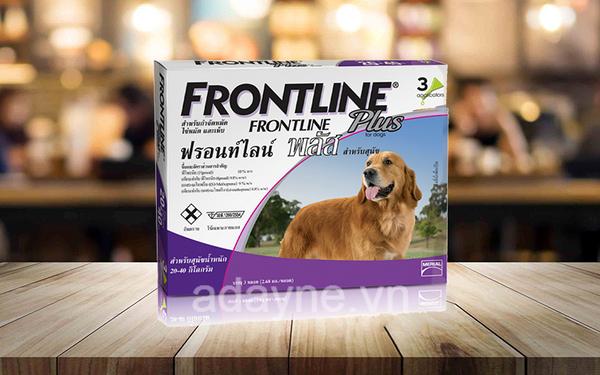 Thuốc trị ve chó Frontline Plus
