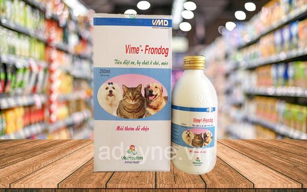 các loại thuốc trị ve chó - Thuốc uống trị ve chó Vime Frondog