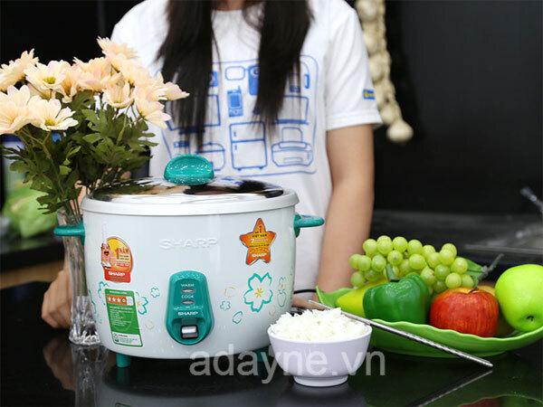Lựa chọn dung tích phù hợp cho nồi cơm điện Thái Lan