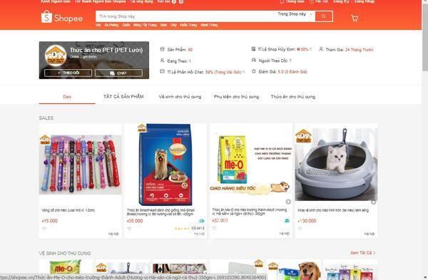 PET lười -Top các shop bán thức ăn cho chó shopee cực kỳ uy tín